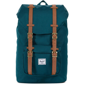 Herschel Little America Mid-Volume Backpack Deep Teal/Tan